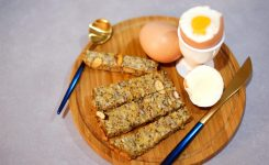 The Perfect Soft Boiled Egg with Toasty Soldiers for Dippin'