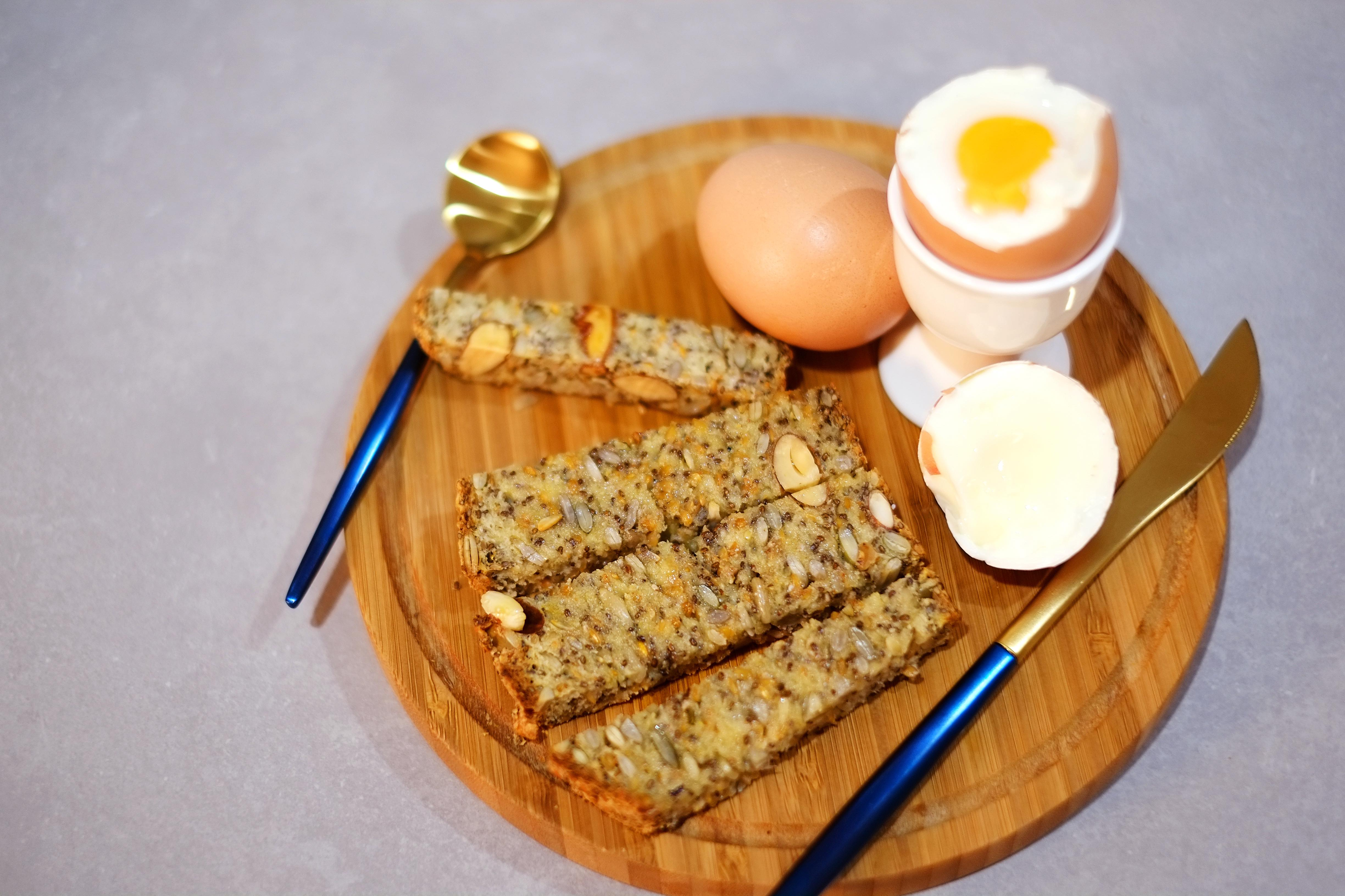 Soft Boiled Eggs with Toasty Soldiers
