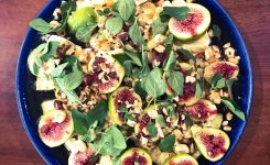 Fig and Haloumi